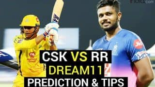 CSK vs RR Dream11 Team Prediction VIVO IPL 2021: Captain, Vice Captain, Fantasy Playing Tips, Today's Probable XIs For Today's Chennai Super Kings vs Rajasthan Royals T20 Match 12 at Wankhede Stadium, Mumbai 7.30 PM IST April 19 Monday