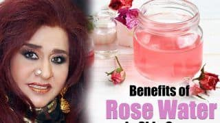 Benefits of Rose Water For Flawless And Glowing Skin By Shahnaz Husain