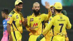 IPL 2021, CSK vs RR: मोइन अली, रवींद्र जडेजा ने राजस्थान के मध्यक्रम को किया ध्वस्त, 45 रन से जीता चेन्नई