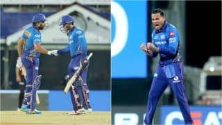 IPL 2021 Points Table Latest Update After MI vs SRH, Match 9: Mumbai Indians Claim Top Spot After Beating Sunrisers Hyderabad, Rahul Chahar Becomes Joint No.1 in Purple Cap List