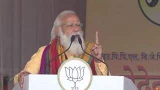 Video: PM Modi Halts Speech, Asks His Medical Team to Check BJP Worker Who Fainted During Rally in Assam's Tamulpur