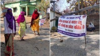 Not a Single Covid-19 Case in This MP Village As Women Armed With Sticks Stand Guard, Restrict Outsiders' Entry | See Pics