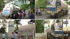 Oxygen crisis: दिल्ली के मैक्स हॉस्पिटल और सर गंगाराम अस्पताल को थमती सांसों के बीच मिली ऑक्सीजन