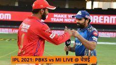 IPL 2021 PBKS vs MI LIVE Cricket Score and Updates in Hindi: क्विंटन डिकॉक सस्ते में लौटे, दीपक हूडा को पहली विकेट
