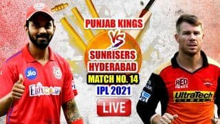LIVE IPL 2021 PBKS vs SRH Live Cricket Score Today, T20 Match Updates: Punjab Kings Aim For Resurgence, Desperate Sunrisers Hyderabad Eye First Win