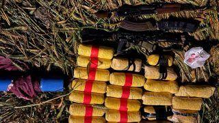 Punjab: अमृतसर में मारा गया पाकिस्तानी घुसपैठिया, 2 AKM राइफलें और भारी मात्रा में हेरोइन बरामद