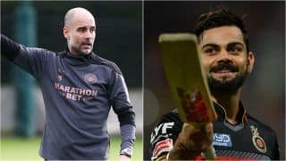 IPL 2021: Manchester City Manager Pep Guardiola Thanks Virat Kohli For RCB Jersey, Says 'Time to Learn Cricket Rules'
