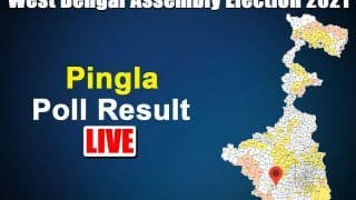 Pingla Assembly Election Result 2021: TMC's Ajit Maity Wins