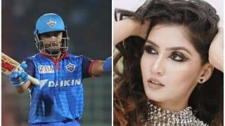 Prithvi Shaw's Rumoured GF Prachi Reacts After DC Opener's Heroics