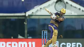 IPL 2021, SRH vs KKR: नितीश राणा, राहुल त्रिपाठी ने जड़े अर्धशतक; कोलकाता ने हैदराबाद के सामने 188 रन का लक्ष्य रखा