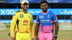 IPL 2021, Chennai Super Kings vs Rajasthan Royals: संजू सैमसन ने टॉस जीत चुनी फील्डिंग, जानिए दोनों टीमों की Playing XI