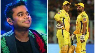 IPL 2021: AR Rahman Dedicates Iconic Bollywood Songs For CSK Stars MS Dhoni, Suresh Raina