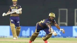 IPL 2021: Thought For a Second, I Was Late to Dive - KKR Star Rahul Tripathi After Surviving Close Run-Out Call vs PBKS