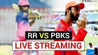 RR vs PBKS IPL 2021 Live Match Streaming: When And Where to Watch Rajasthan Royals vs Punjab Kings IPL Stream Live Cricket Match Online And on TV Telecast in India