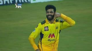 Ravindra Jadeja's Unique Celebration Goes Viral After Chennai Super Kings Beat Rajasthan Royals in IPL 2021 | WATCH VIDEO