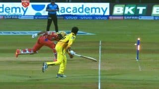 Ravindra Jadeja's Bullet Throw Ends Rahul's Stay During PBKS vs CSK IPL 2021 Match | WATCH VIDEO