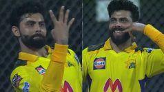 CSK vs RR: जयदेव उनादकट का कैच पकड़ Ravindra Jadeja ने क्यों दिखाई चार उंगलियां ? वायरल हुआ VIDEO