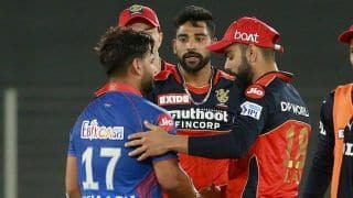 IPL 2021 Report: Pant-Heymyer Fifties in Vain; De Villiers Delivers as Bangalore Beat Delhi by 1 Run