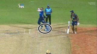 WATCH | Rohit Averts INJURY, Twists His Left Ankle While Bowling