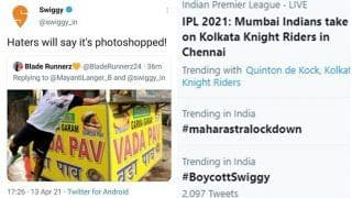 Boycott Swiggy Trends For Taking a Sly Dig at Mumbai Indians Skipper Rohit Sharma; Issues Clarification Later