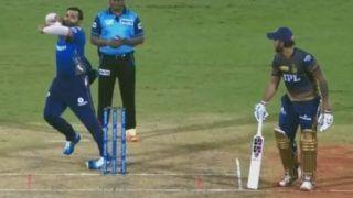 IPL 2021, KKR vs MI, Live: गेंदबाजी करने आए Rohit Sharma, पहली ही बॉल पर मुड़ी एड़ी, फिर...