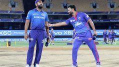 IPL 2021- Delhi Capitals vs Mumbai Indians: रोहित शर्मा ने टॉस जीता बैटिंग का फैसला, आज दोनों टीमों ने प्लेइंग XI में किए हैं बदलाव