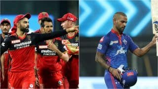 IPL 2021 Points Table Latest Update After DC vs PBKS, Match 11: Royal Challengers Bangalore Reclaim Top Spot After Beating KKR, Shikhar Dhawan Pips Glenn Maxwell in IPL Orange Cap List, Harshal Patel Bags Purple Cap