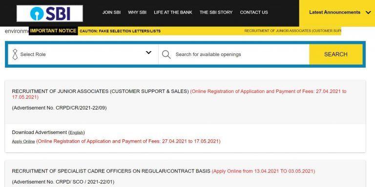 SBI Clerk Recruitment 2021: Registration For 5000+ Junior Associate Posts Begins Today. Apply Soon at sbi.co.in
