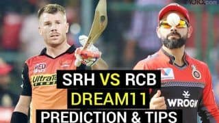 SRH vs RCB Dream11 Team Prediction VIVO IPL 2021: Captain, Vice-captain, Fantasy Playing Tips, Probable XIs For Today's Sunrisers Hyderabad vs Royal Challengers Bangalore T20 Match 6 at MA Chidambaram Stadium, Chennai 7.30 PM IST April 14 Wednesday