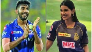 Who Will Sanjana Ganesan Support - Kolkata Knight Riders or Mumbai Indians in IPL 2021 Clash? Netizens Divided