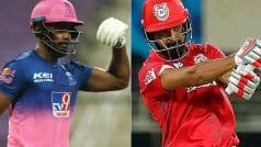 Live IPL Score, RR vs PBKS, IPL 2021: क्रिस गेल 40 रन बनाकर आउट