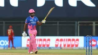 IPL 2021 Report: Samson Hundred in Vain as Punjab Edge Rajasthan in High-Scoring Thriller at Wankhede