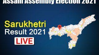 Sarukhetri Assembly Constituency Result: Congress' Jakir Hussain Sikdar Wins