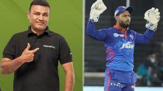 IPL 2021: Rishabh Pant की कप्तानी पर गुस्साए Virender Sehwag, बोले- 10 में से 5 नंबर भी नहीं दूंगा