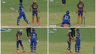 Shikhar Dhawan-Dinesh Karthik Engage in Hilarious Banter During DC vs KKR IPL 2021, Video Goes Viral | WATCH