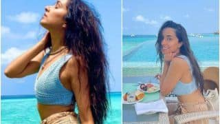 Shraddha Kapoor Soaks Up The Maldivian Sun in Rs 1490 Bralette and Beige Shorts