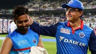 BCCI President Sourav Ganguly Reacts on Rishabh Pant Testing Covid-19 Positive Ahead of England Tests