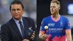 IPL 2021, DC vs PBKS: बेन स्टोक्स ने कमेंट्री के दौरान पकड़ी सुनील गावस्कर की बड़ी गलती, ट्वीट कर इस तरह लिए मजे