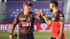 Indian Premier League 2021, RCB vs KKR, Live Score and Updates: कुछ ही देर में होगा टॉस
