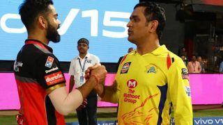 Live Score and Updates, CSK vs RCB, IPL 2021: चेन्नई ने 16 तो बैंगलोर ने जीते हैं नौ मुकाबले, आज कौन मारेगा बाजी ?