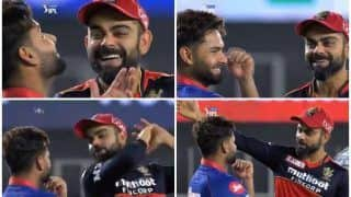 Virat Kohli-Rishabh Pant's Bromance After RCB Beat DC in IPL 2021 Game is Going Viral | WATCH VIDEO