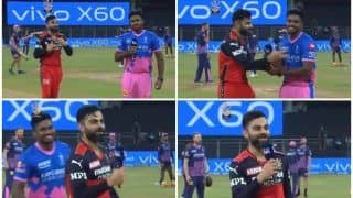 Virat Kohli's Hilarious Error After Winning Toss During RCB-RR is Epic | WATCH VIDEO