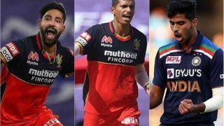 IPL 2021: Virat Kohli Expects Mohammed Siraj, Washington Sundar, Navdeep Saini to Raise Level of Playing as RCB Eye Maiden Title