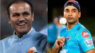 IPL में पहली हैट्रिक लेने के बाद क्या थी Amit Mishra की ख्वाहिश, Virendra Sehwag ने बताया मजेदार वाक्या