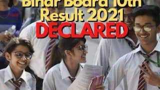 Bihar Board 10th Results 2021 DECLARED: Pooja, Shubhdarshani And Sandeep Bag First Rank by Scoring 484 Marks | Highlights