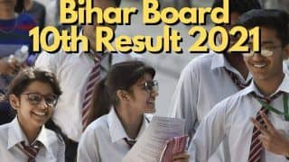 BSEB Bihar Board 10th Result 2021 Declared: 1 Crore Papers Checked in 25 Days, Fastest Result in 9 Years