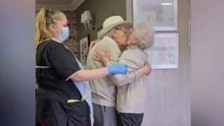 Elderly Couple Reunites After a Long Time Apart. Viral Video Will Melt Your Heart | Watch