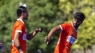 India Men's Hockey Team Plays Out 4-4 Draw Against Argentina in Second Practice Match