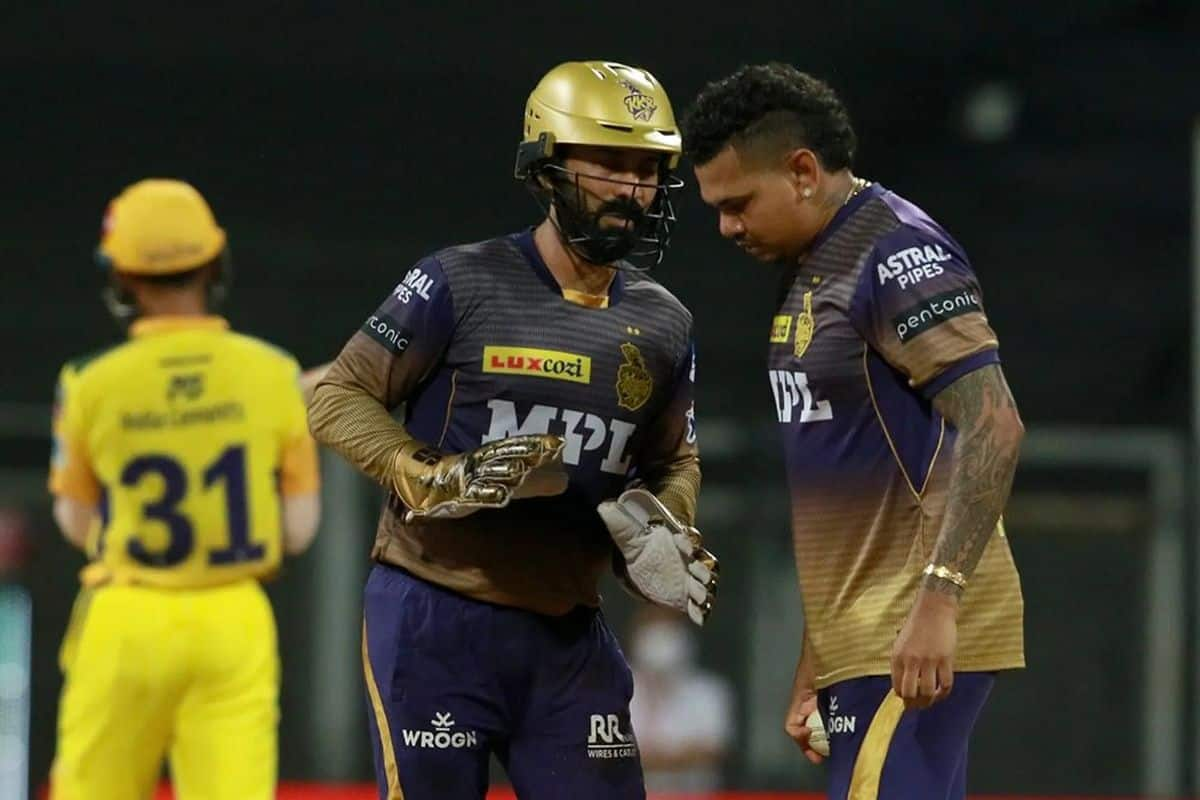 IPL 2021, KKR vs CSK: Dinesh Karthik का नया कीर्तिमान, सिर्फ महेंद्र सिंह धोनी-रोहित शर्मा ही कर सके ऐसा - Ipl kolkata knight riders vs chennai super kings th match dinesh karthik