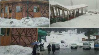 Fresh Snowfall In Gulmarg Makes For Splendid View | Watch